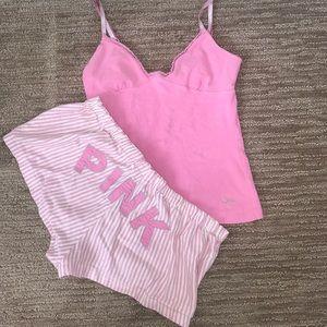 EUC • PINK Pajama Set 🎀